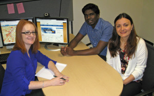 Graduate assistants at the ASBTDC Lead Center