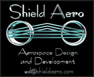 logotipo escudo Aeroespacial