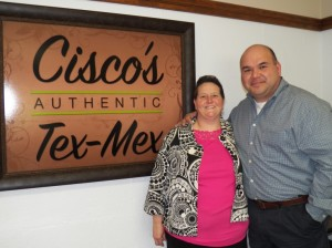 Cisco's Authentic Tex-Mex owners Dana and Cisco Olvera