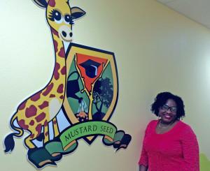 Josephine Adesina, titular de la Academia semilla de mostaza infantil