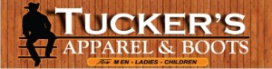 Tucker's Apparel and Boots logo