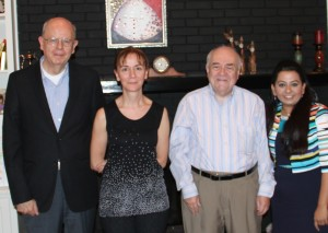 Tocol Pharmaceuticals team, from left to right: Cesar M. Compadre, PhD; Nukhet Aykin-Burns, PhD., Philip J. Breen, PhD., and Shraddha Thakkar, Ph.D