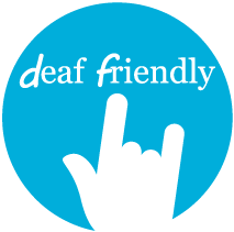 deaf friendly logo