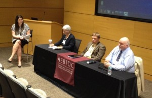 Arkansas SBIR awardee panel session (moderated by ASBTDC's Whitney Horton)