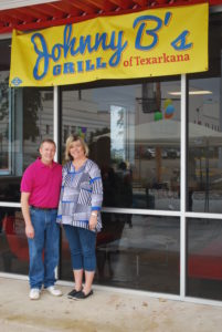 Wendell and Sheila Crossland, owners of Johnny B's Grill in Texarkana