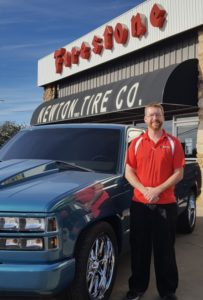 Michael Heaton, new owner of Newton Tire Co.