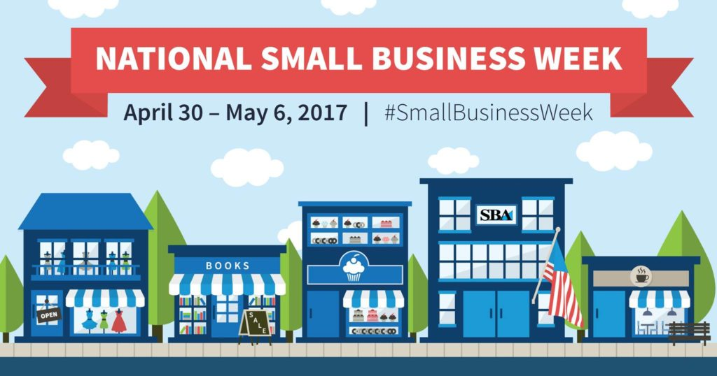 National Small Business Week 2017 logo