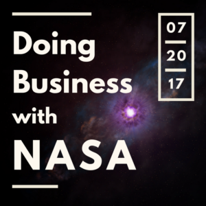 Graphic: Doing Business with NASA, 07-20-17