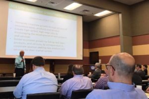 AEDC's Tom Chilton speaks at summit