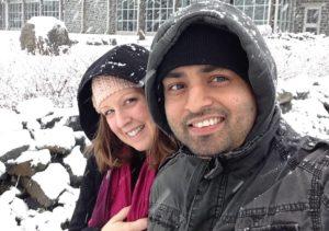 Kayla y Pradeep Sapkota