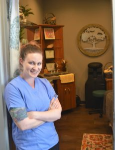 Elizabeth Sniegocki, owner and operator of Haven Massage Therapy